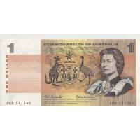 R71 $1 Coombs/Wilson First Prefix AAA aEF