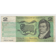R81 $2 Coombs/Wilson Star Note aFine