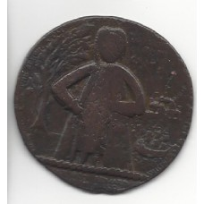 Admiral Vernon's taking of Porto Bello, 1739  Medallion