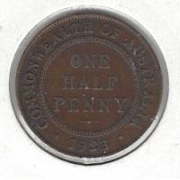 1923 Halfpenny F