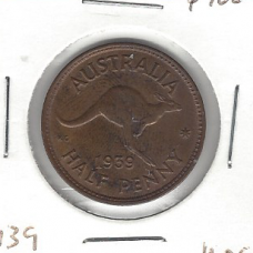 1939 Halfpenny (roo) Unc