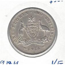1914H Florin VF