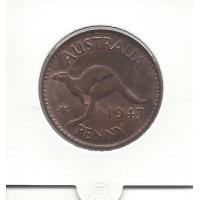 1947 Penny ChUnc