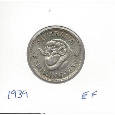 1939 Shilling EF