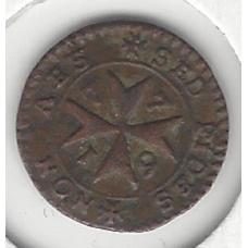 1776 Malta Grano VF