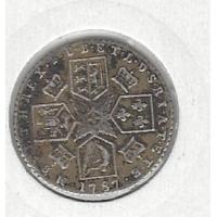 Great Britain 1787 Sixpence VF George III