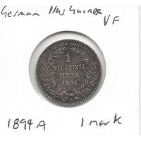 1894A German New Guinea 1 Mark VF