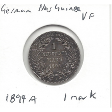 1894A German New Guinea 1 Mark VF