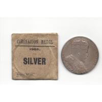 1902 Edward VII Silver Coronation Medallion