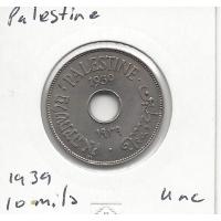 Palestine 1939 10 Mils Unc