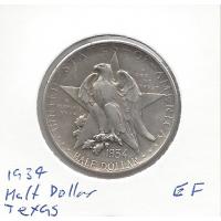 USA 1934 Half Dollar Texas Commemorative EF