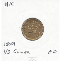 Great Britain 1809 Third Guinea EF (George III)