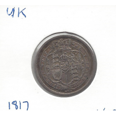 Great Britain 1817 Shilling VF