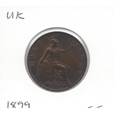 Great Britain 1899 Halfpenny EF