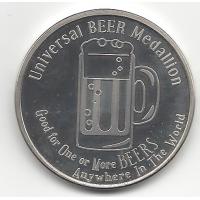 Universal Beer Medallion