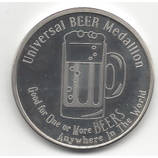 Universal Beer Medallion