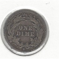 USA 1895s Dime VG